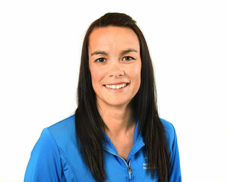 Picture of L'Archevêque Julie Running Injury Prevention expert in the Saint-Jerome's clinic