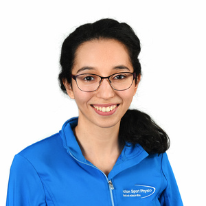 Picture of Yaddaden Sarah Physiotherapy expert in the Saint-Bruno's clinic