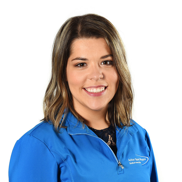 Picture of Hommery-Boucher Daphne Occupational Therapy expert in the Mercier Hochelaga's clinic
