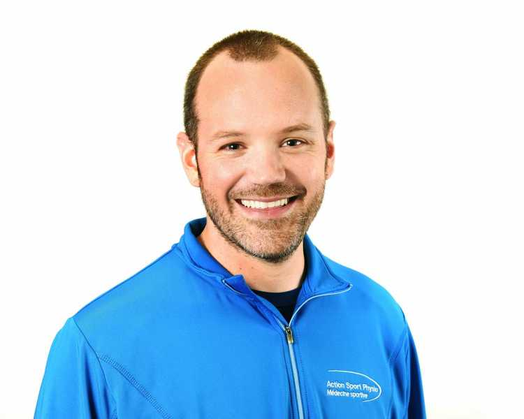 Picture of Poirier Mathieu Sports Physiotherapy expert in the Blainville's clinic