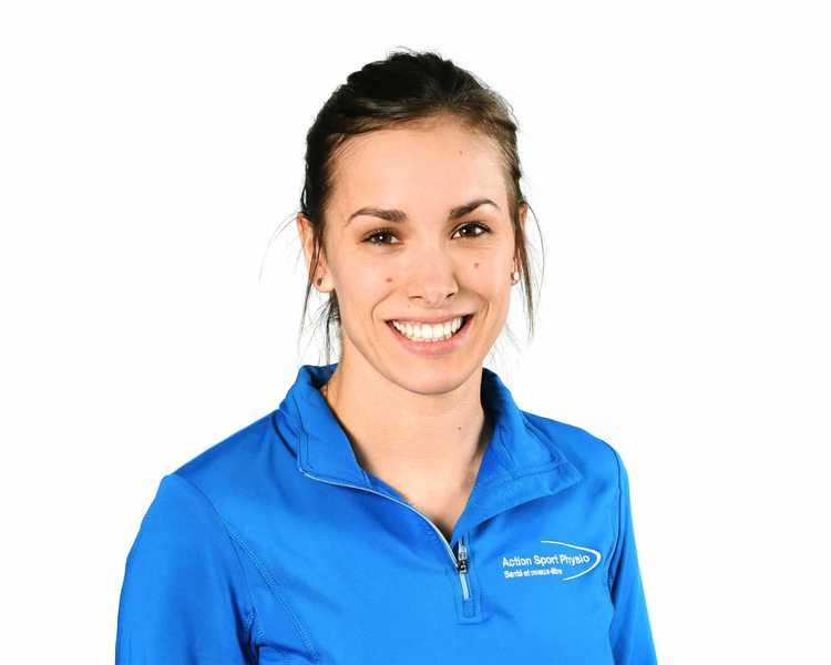 Picture of Gagne Marie-Pier Physiotherapy expert in the Sherbrooke's clinic