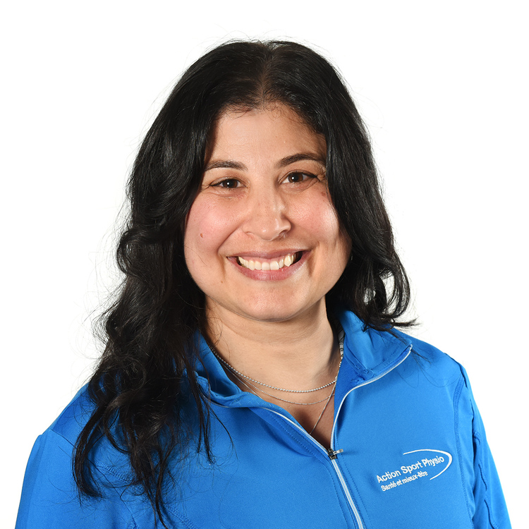 Picture of Sansalone Pina Sports Massage Therapy expert in the Saint-Leonard's clinic