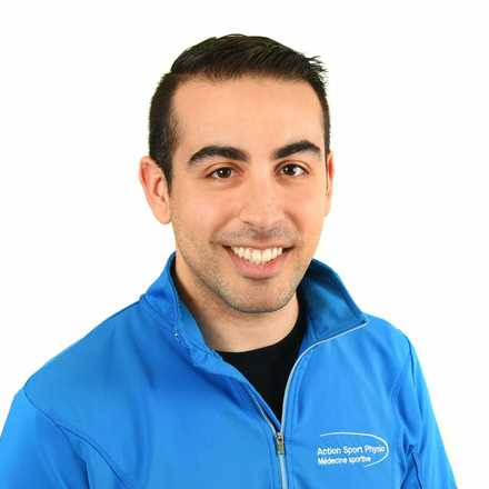 Picture of Christopher Ciccarelli Sports Physiotherapy expert in the Rivière-des-Prairies' clinic