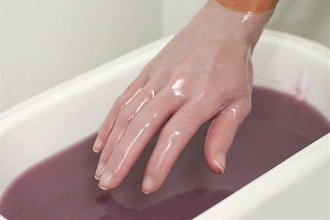 Picture of the Paraffin wax's service