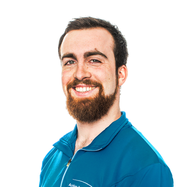 Picture of Brien Alexis Athletic Therapy expert in the Maisonneuve-Rosemont's clinic