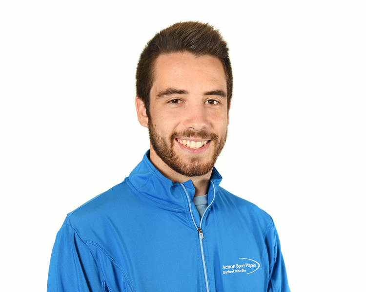 Picture of Henault Vincent Sports Physiotherapy expert in the Laval's clinic