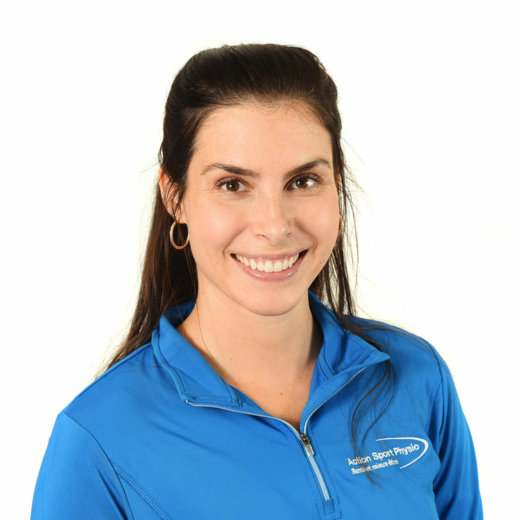 Picture of Godhue Nadia Sports Physiotherapy expert in the Mont-Saint-Hilaire's clinic