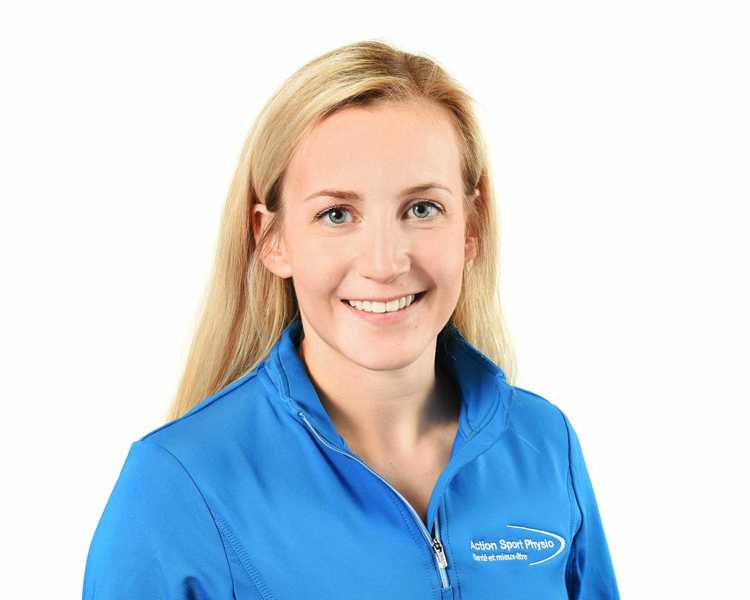 Picture of Briere Helene Physiotherapy expert in the Laval's clinic
