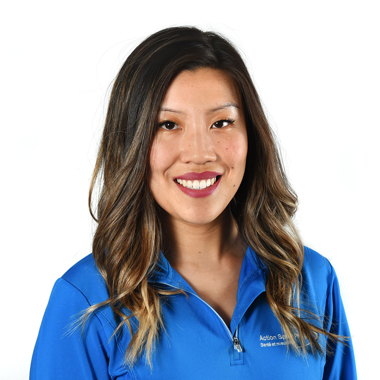 Picture of Boudreau Andree-Li Sports Medical expert in the Blainville's clinic