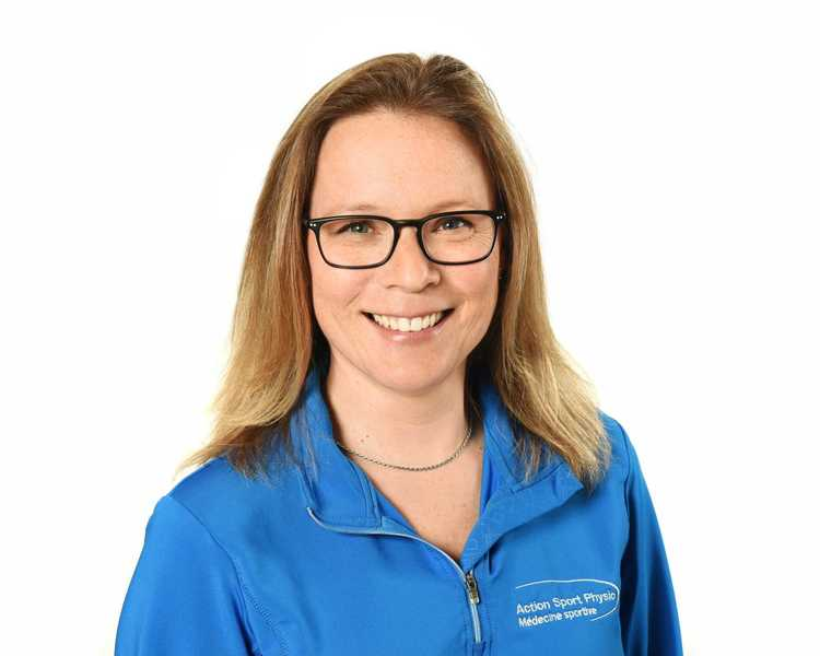 Picture of Lessard Julie Sports Massage Therapy expert in the Boucherville's clinic