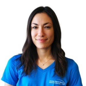 Picture of Amanda Ferlisi receptionist in the Saint-Laurent's clinic