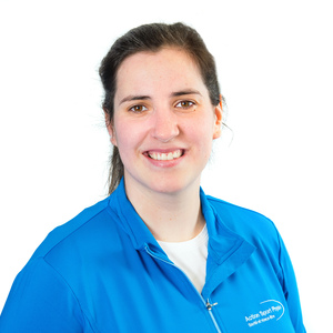 Picture of Demers Ingrid Athletic Therapist at the Saint-Hyacinthe clinic.