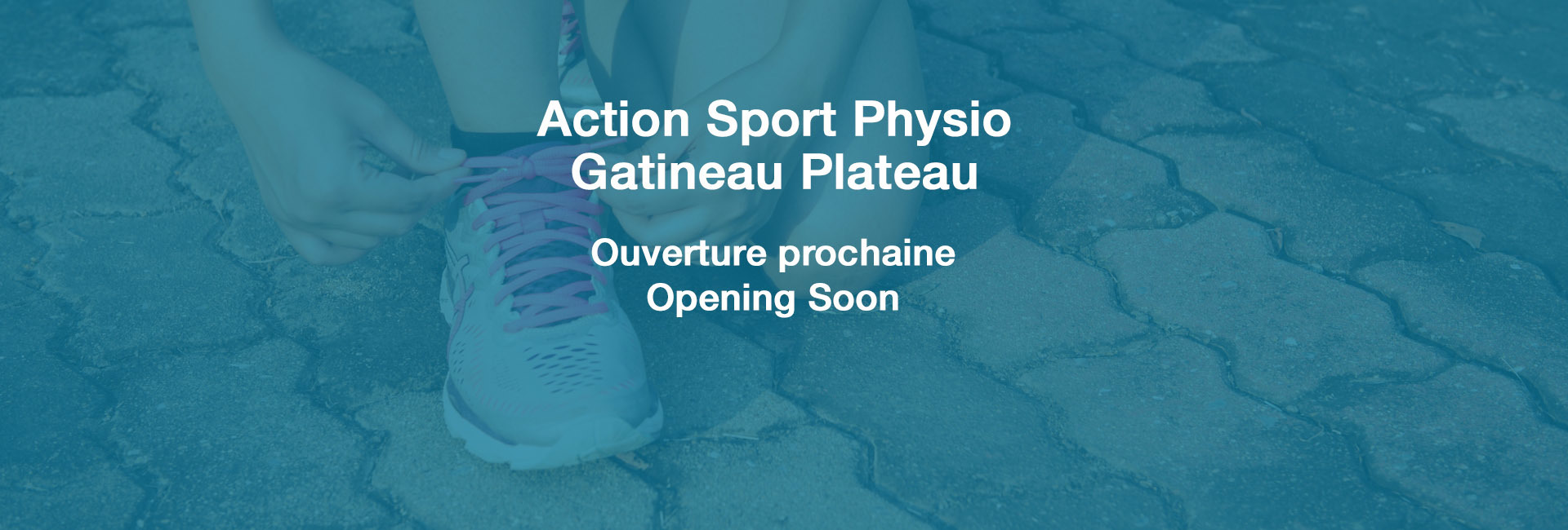 Picture of the Gatineau Plateau Action Sport Physiotherapy Clinic. You can book online. We offer physiotherapy, kinesiology, osteopathy and many more professional services.