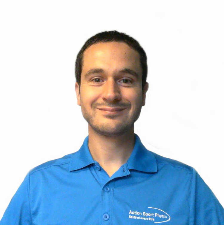 Picture of Adam De Vito Occupational Therapy expert in the Saint Hyacinthe's clinic