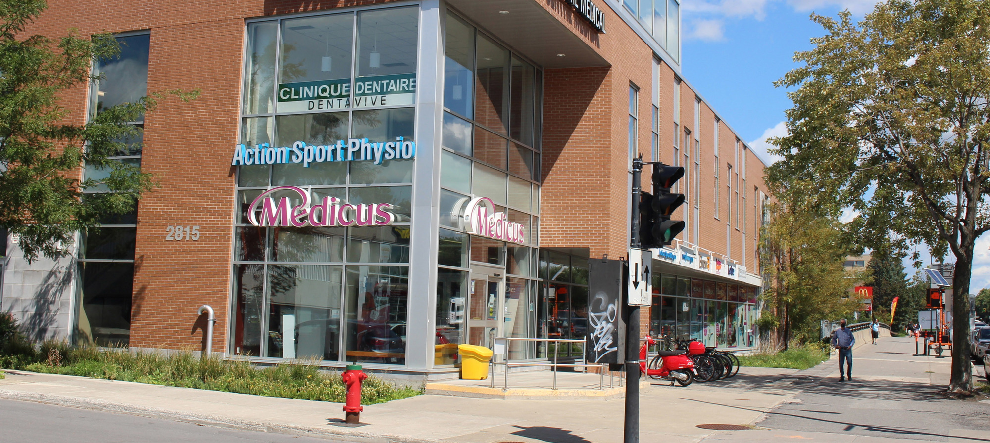 Photo de la clinique de Physiothérapie Action Sport Physio Maisonneuve Rosemont