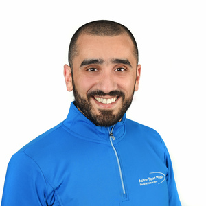 Photo de Elie Ghossain Physiothérapeute à la clinique Action Sports Physio Maisonneuve Rosemont