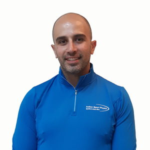 Photo de Patrick Salloum Physiothérapeute à la clinique Action Sports Physio Maisonneuve Rosemont