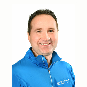 Picture of Jean-Pierre Cloutier Osteopath at the Action Sport Physio Boucherville clinic