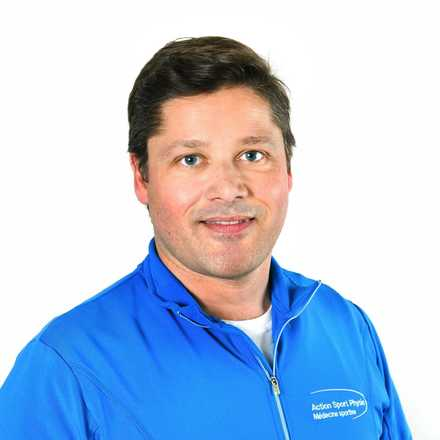 Picture of Jean-François Mathieu Physiotherapist at the Action Sports Physio Mascouche clinic