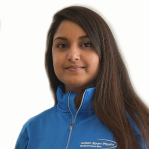 Picture of Luxshmee Devi Jugghoo Receptionist at the Action Sport Physio Montreal - Downtown clinic