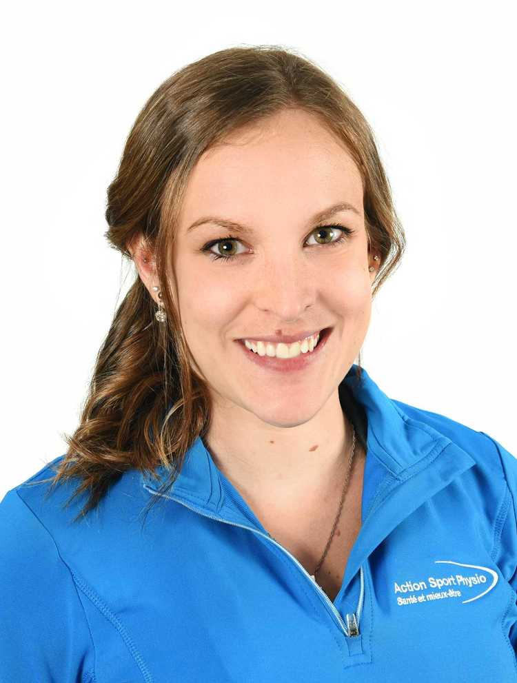Photo de Elizabeth Parenteau Physiothérapeute à la clinique Action Sports Physio Sherbrooke