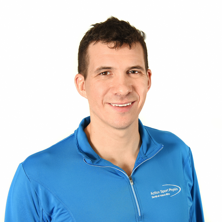 Picture of Francis Gagnon Physiotherapist at the Action Sports Physio Isatis Sport Complex clinic