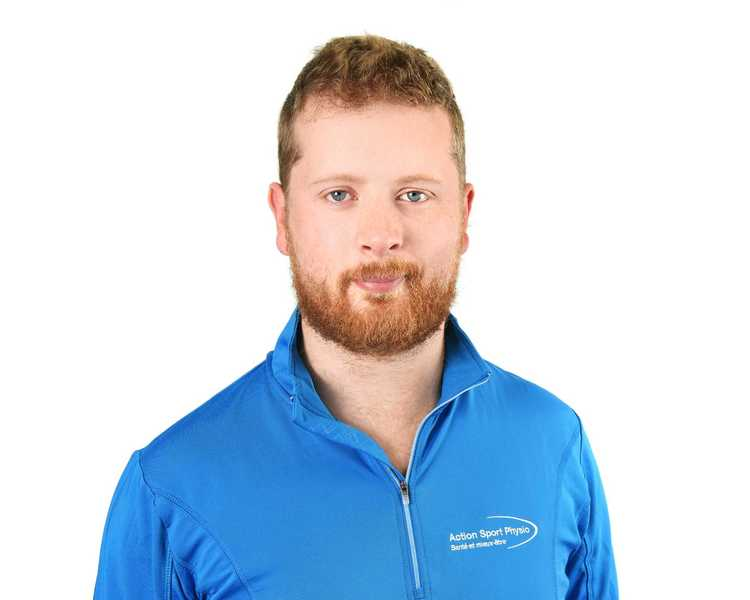 Picture of Marc-Olivier Brault Owner at the Action Sport Physio Maisonneuve Rosemont clinic