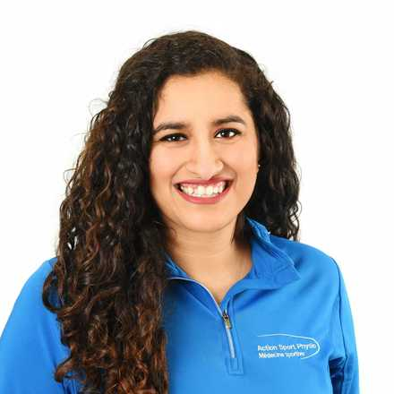 Picture of Aditi Kapoor Physiotherapist at the Action Sports Physio Vaudreuil-Dorion clinic
