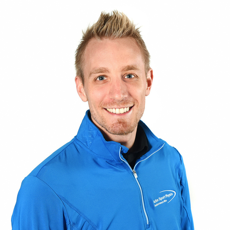 Picture of Samuel Lamontagne Physiotherapist at the Action Sport Physio Saint-Hyacinthe clinic