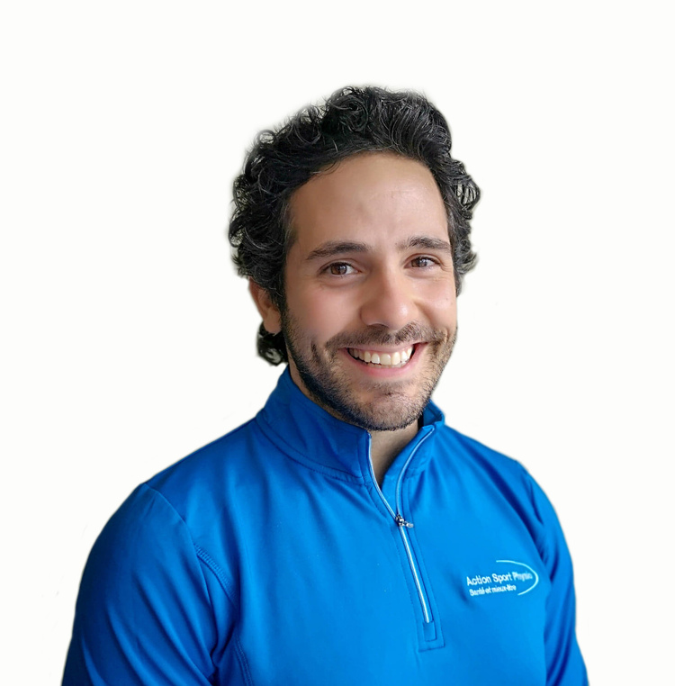 Picture of Daniel Badra Physiotherapist at the Action Sport Physio Saint-Bruno clinic