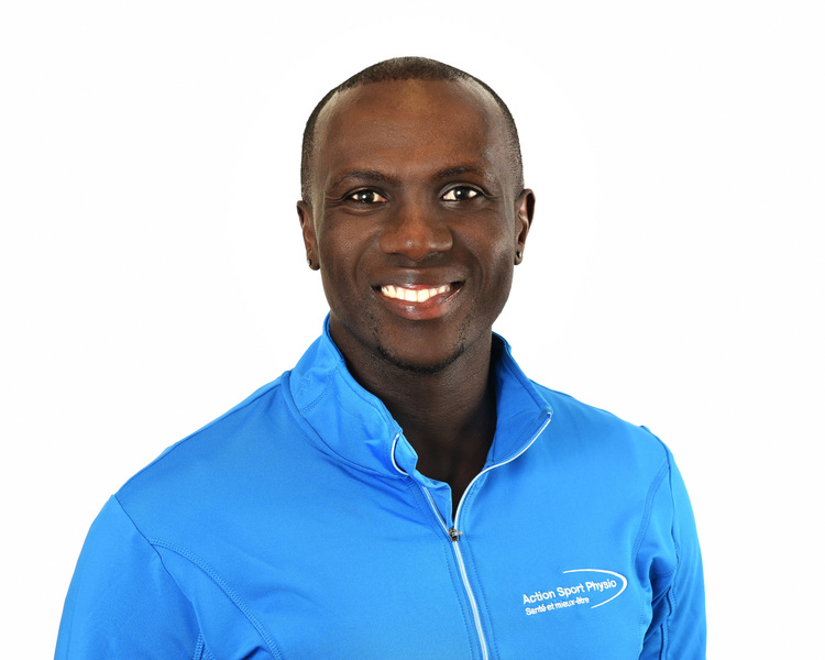 Picture of Latin Olivier Niyonsaba Physiotherapist at the Action Sports Physio Lachine clinic