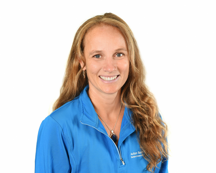 Picture of Marie-Claude Sirois Occupational Therapist at the Action Sport Physio Piedmont/Saint-Sauveur clinic