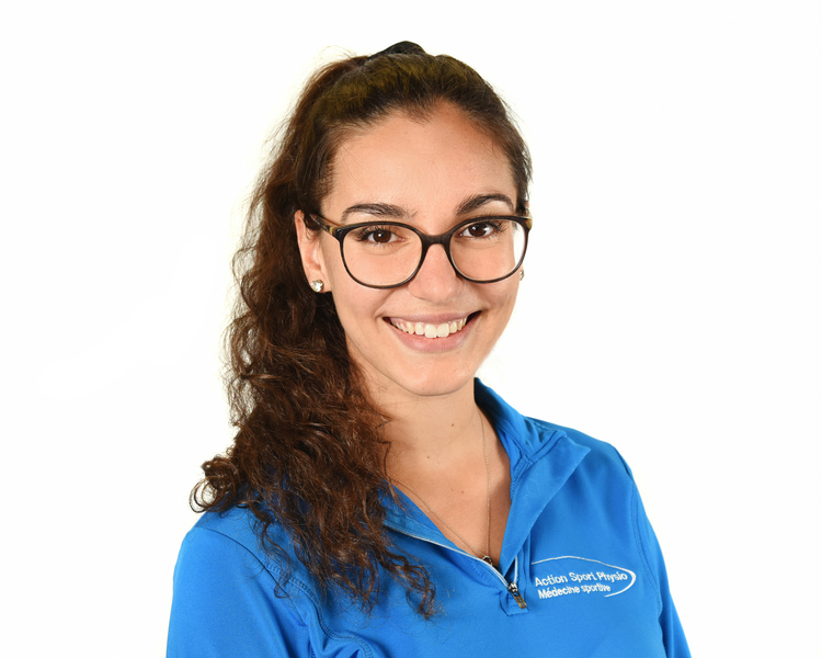 Picture of Cassie Desjardins Physiotherapist at the Action Sports Physio Saint-Jérôme clinic
