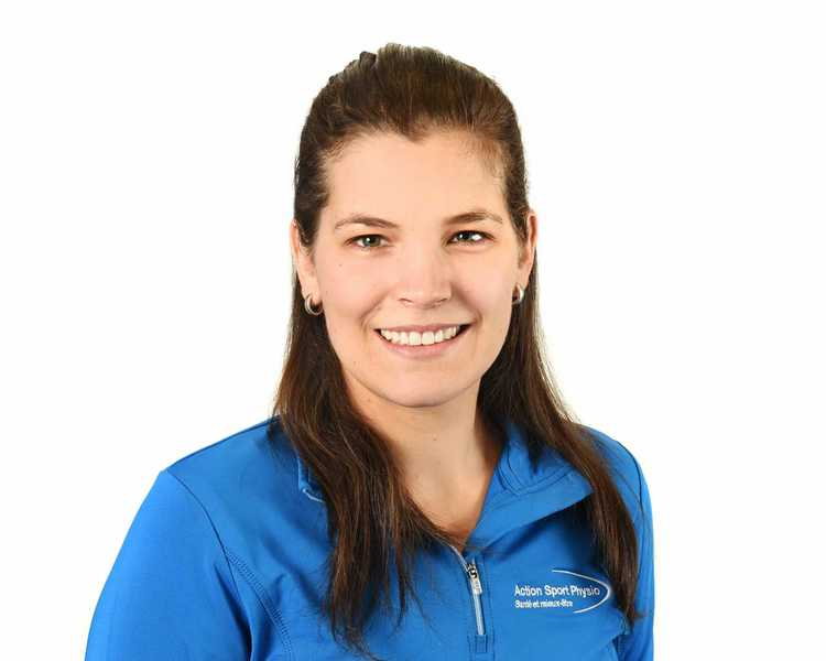 Picture of Marie-Ève Teasdale Osteopath at the Action Sports Physio Saint-Hyacinthe clinic
