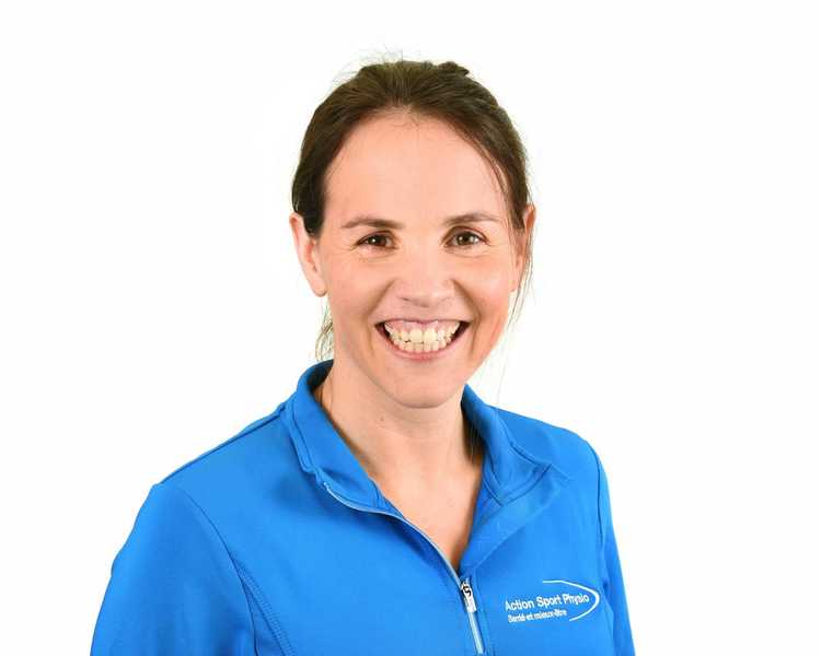Picture of Roxane Lagarde Physiotherapist at the Action Sports Physio Rosemère clinic