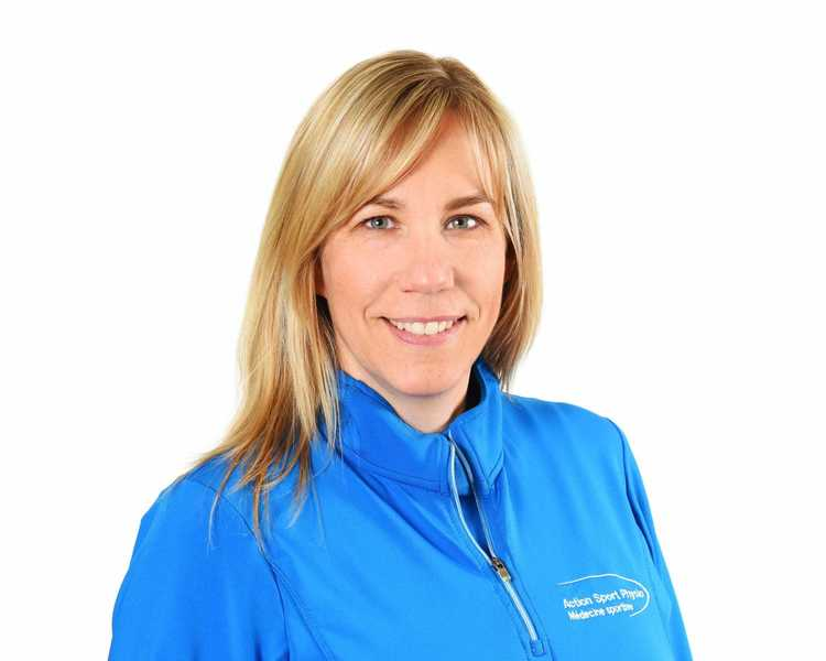 Picture of Kim Pantridge Vice President of Administration at the Action Sports Physio Montreal - Downtown clinic