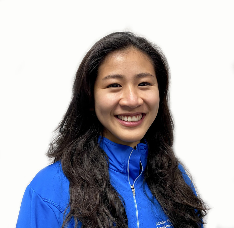 Picture of Marianne Truong Physiotherapist at the Action Sports Physio Lachine clinic