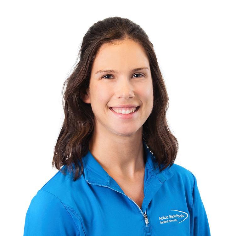 Picture of Savanagh Dubé Physiotherapy Technologist (Physical Rehabilitation Therapist) at the Action Sport Physio Saint-Jérôme clinic