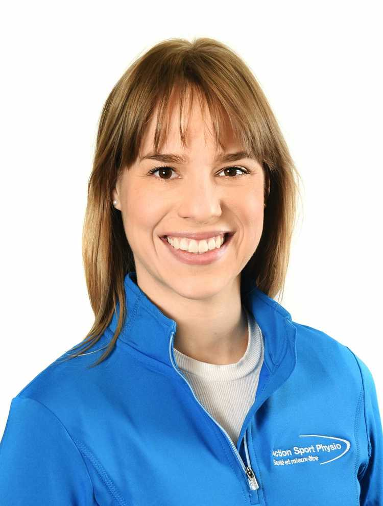 Picture of Catherine Thibault-Denis Osteopath at the Action Sports Physio Saint-Bruno clinic