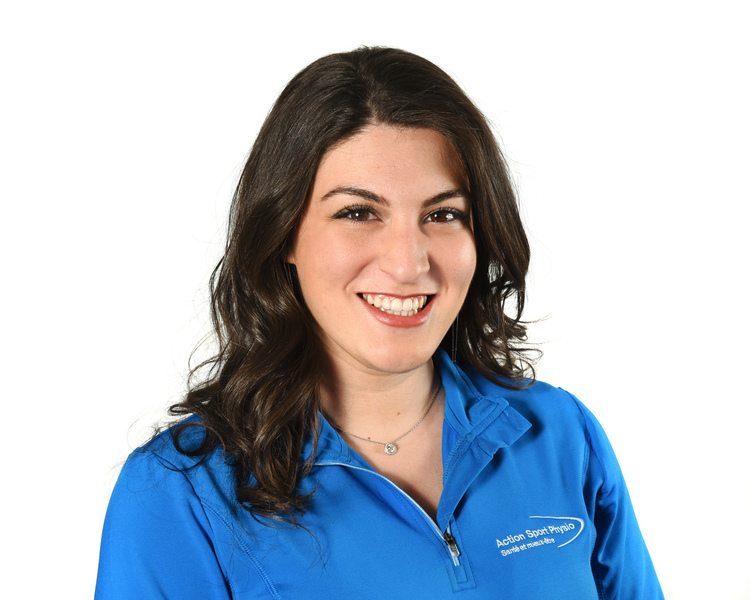 Picture of Julia Saracino Receptionist at the Action Sports Physio Saint-Léonard clinic
