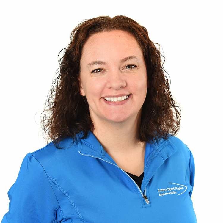 Picture of Sophie Pelletier Massage Therapist at the Action Sport Physio Valleyfield clinic