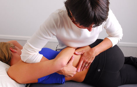 Picture of the Manual Therapy's service