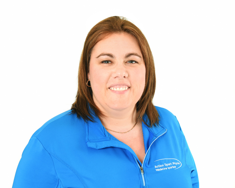 Picture of Mélanie Lévesque Receptionist at the Action Sports Physio Vaudreuil-Dorion clinic