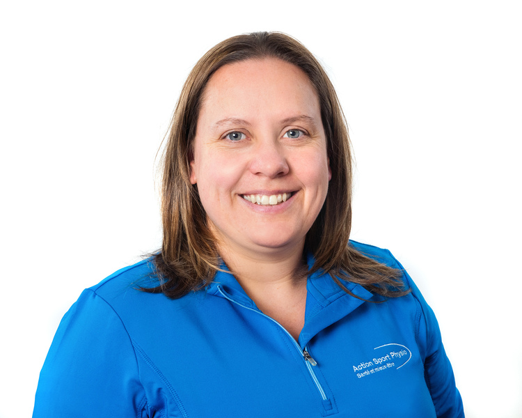 Picture of Mélanie Lévesque Physiotherapy Technologist (Physical Rehabilitation Therapist) at the Action Sport Physio Vaudreuil-Dorion clinic