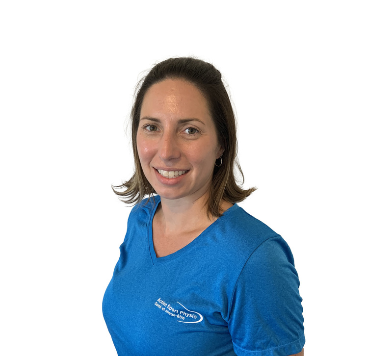 Picture of Annie-Claude Legault Physiotherapy Technologist (Physical Rehabilitation Therapist) at the Action Sports Physio Île Perrot clinic