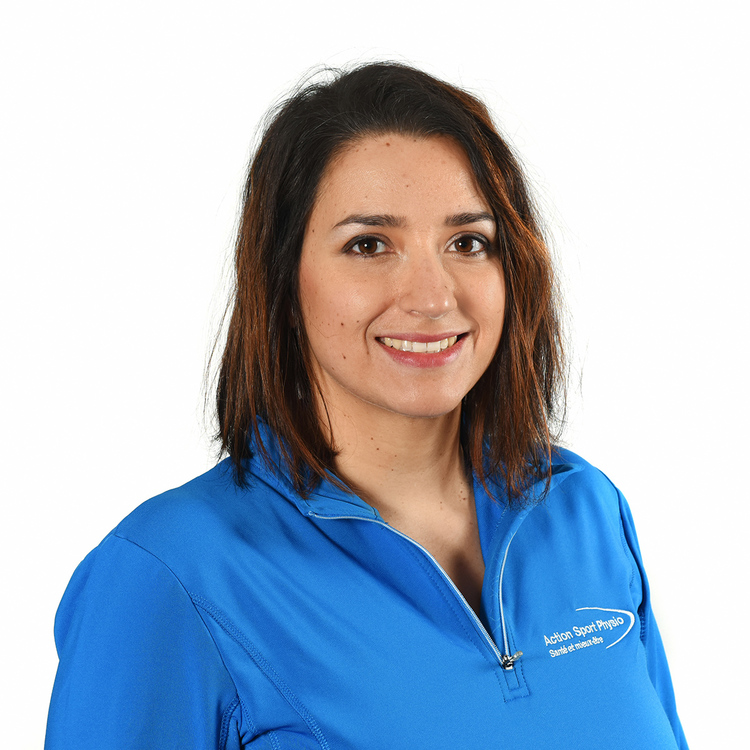 Picture of Michelle Lang Assistant Therapist at the Action Sports Physio Valleyfield clinic
