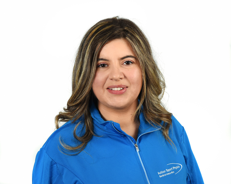 Picture of Ingrid Viviana Guarin-Franco Physiotherapy Technologist (Physical Rehabilitation Therapist) at the Action Sports Physio Île Perrot clinic
