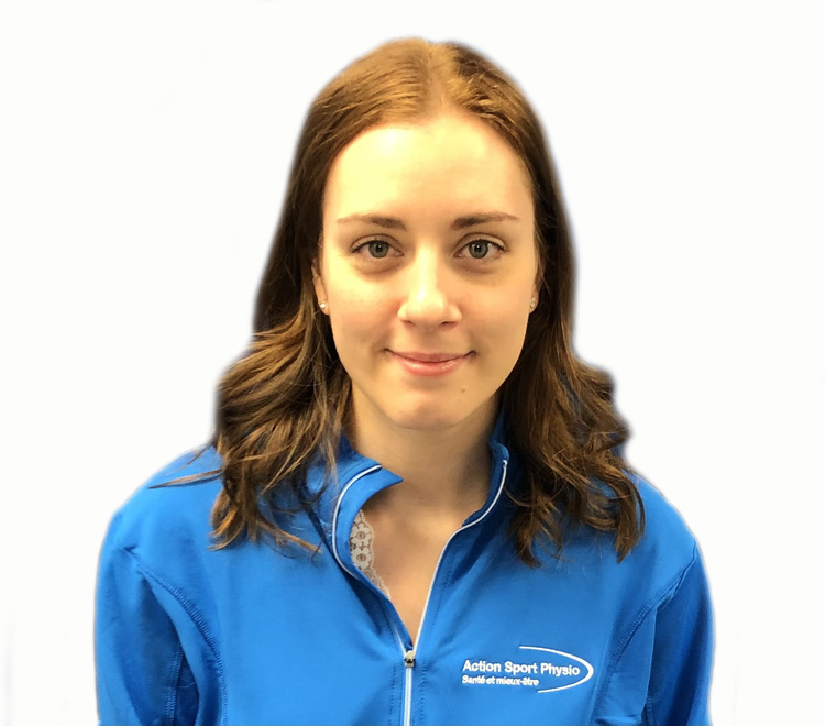 Picture of Gabrielle Despars Physiotherapy Technologist (Physical Rehabilitation Therapist) at the Action Sports Physio Montreal - East End clinic
