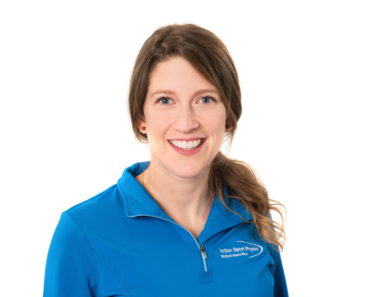 Picture of Marie-Andrée Dufour Physiotherapist at the Action Sport Physio Vaudreuil Dorion's clinic