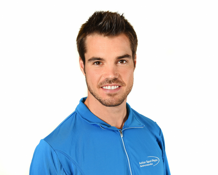 Picture of Mikael Lamirande Kinesiologist at the Action Sports Physio Blainville clinic